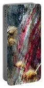 Weed Abstract Blend 1 Portable Battery Charger