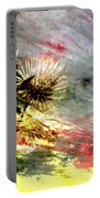Weed Abstract Blend 2 Portable Battery Charger