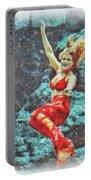 Weeki Wachee Mermaid Portable Battery Charger