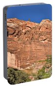 Weeping Rock In Zion National Park Portable Battery Charger