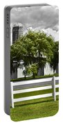 Weeping Willow Green Portable Battery Charger