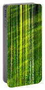 Weeping Willow Tree Ribbons Portable Battery Charger