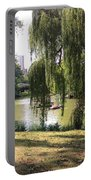 Weeping Willows In Central Park  Portable Battery Charger