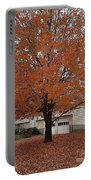 Welcome Fall Portable Battery Charger