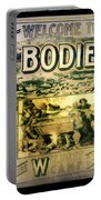 Welcome To Bodie California Portable Battery Charger