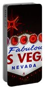 Welcome To Fabulous Las Vegas Portable Battery Charger