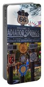 Welcome To Radiator Springs Portable Battery Charger