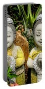 Welcome To Thailand Portable Battery Charger by Adrian Evans