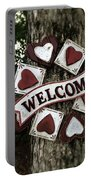 Welcome With Love Portable Battery Charger