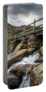 Welsh Bridge Portable Battery Charger by Adrian Evans