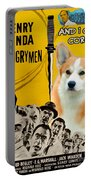 Welsh Corgi Pembroke Art Canvas Print - 12 Angry Men Movie Poster Portable Battery Charger