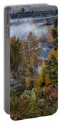 Wenatchee River From Dryden Road Portable Battery Charger