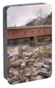 West Cornwall Covered Bridge Portable Battery Charger