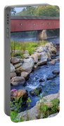 West Cornwall Covered Bridge Summer Portable Battery Charger