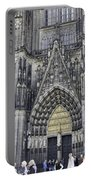 West Entrance Door Cologne Cathedral Portable Battery Charger