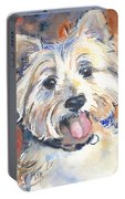 West Highland Terrier Portable Battery Charger