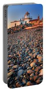 West Point Lighthouse Rocks Portable Battery Charger