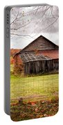 West Virginia Barn In Fall Portable Battery Charger
