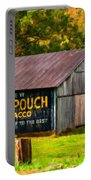 West Virginia Barn Oil Portable Battery Charger