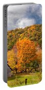 West Virginia Barns  Portable Battery Charger
