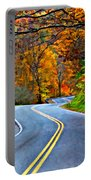 West Virginia Curves 2 Oil Portable Battery Charger