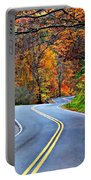 West Virginia Curves 2 Portable Battery Charger
