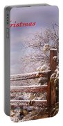 Western Christmas Portable Battery Charger
