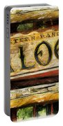 Western Saloon Sign - Drawing Portable Battery Charger