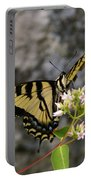 Western Tiger Swallowtail Butterfly 2 Portable Battery Charger