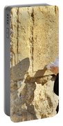 Western Wall Prayer Portable Battery Charger
