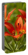 Western Wood Lily Portable Battery Charger