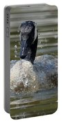 Wet And Wild - Canadian Goose Portable Battery Charger