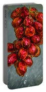 Wet Grapes Four Portable Battery Charger by Bob Orsillo