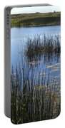 Wetland Pond In Summer  Portable Battery Charger
