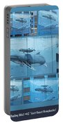 Whaling Wall 42 -  East Coast Humpbacks - Original Painting By Wyland Portable Battery Charger