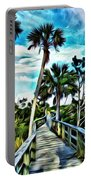 What A Beautiful Boardwalk Portable Battery Charger
