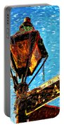 What A Party Painted Portable Battery Charger