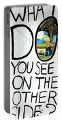 What Do You See On The Other Side Portable Battery Charger