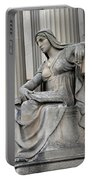 What Is Past Is Prologue Statue At National Archives -- 2 Portable Battery Charger