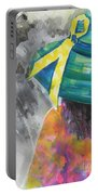 What Lies Ahead Series....chaos  Portable Battery Charger by Chrisann Ellis
