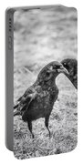 What The Raven Said Portable Battery Charger by Susan Capuano