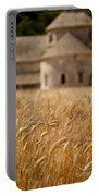 Wheat At The Abbaye Portable Battery Charger