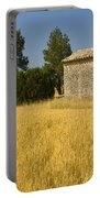 Wheat Field, France Portable Battery Charger