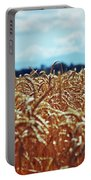 Wheat Reeds Portable Battery Charger