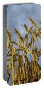 Wheat Standing Tall Portable Battery Charger