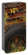 Wheels Of Autumn Portable Battery Charger