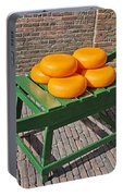 Wheels Of Dutch Gouda Cheese Portable Battery Charger