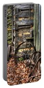 Wheels Of Time Portable Battery Charger by Benanne Stiens