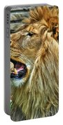 When He Speaks...they Listen...lazy Boy At The Buffalo Zoo Portable Battery Charger