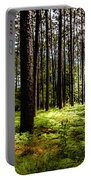 When The Forest Beckons Portable Battery Charger